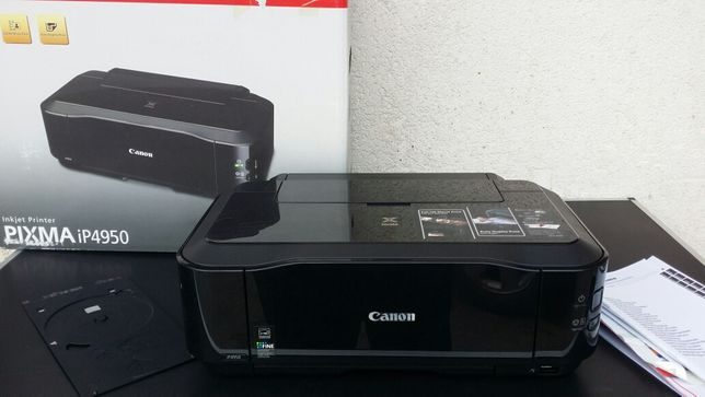 Inprimanta - Canon - Pixma - ip4950 - foto - cd - dvd