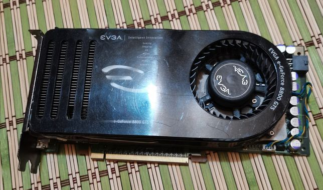 Placa video Nvidia 8800 GTS