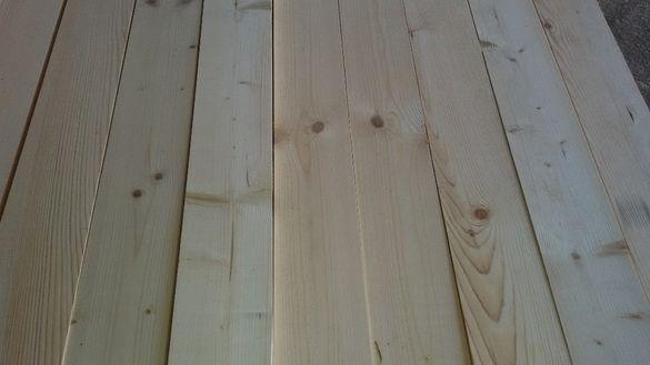 сух четеристранно обработен дървен материал