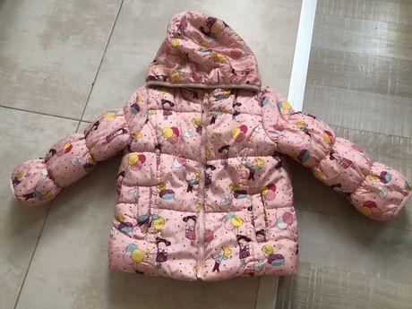 Детско зимно яке за момиченце