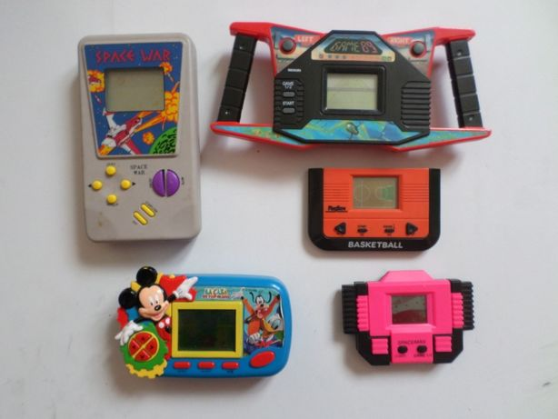 Jucarii vechi Lot jocuri electronice vechi de colectie functional