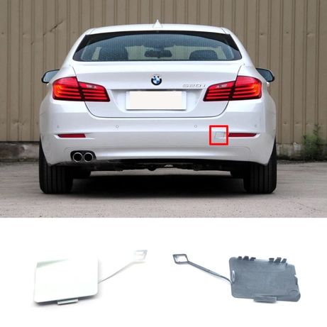 Капачка BMW F10 F11 теглич кука капак Бмв Ф10 задна броня сериа 5