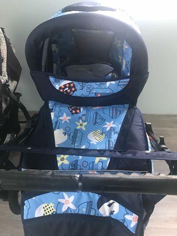 Детская коляска фирмы Стек-Мила зима-лето