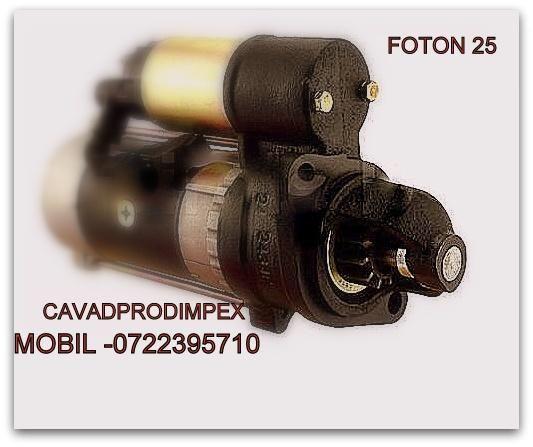 Electromotor cu reductor pentru tractor chinezesc FOTON 25X -Romania