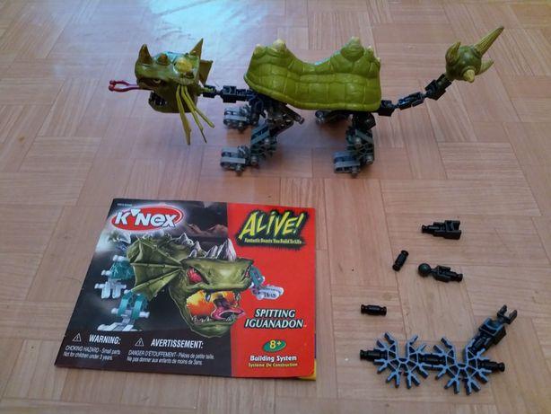 Jucarie lego K'nex spitting iguanadon
