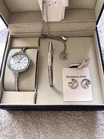 Set complet ceas+lant