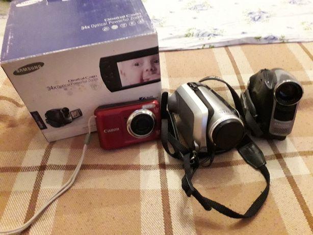 Видеокамеры и фотоаппарат