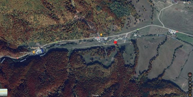Vand teren 756 mp la 25 km de Brasov