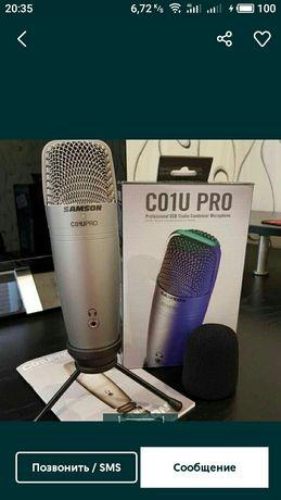 Микрофон студийный samson pro