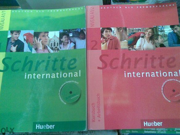 Учебници по немски Schritte international.Direkt zwei 1