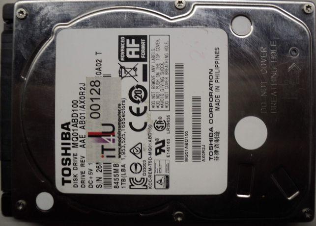 "Hard Disk-HDD Sata 2,5"" HDD-1 Tb Toshiba MQ01ABD100 Refurbished"