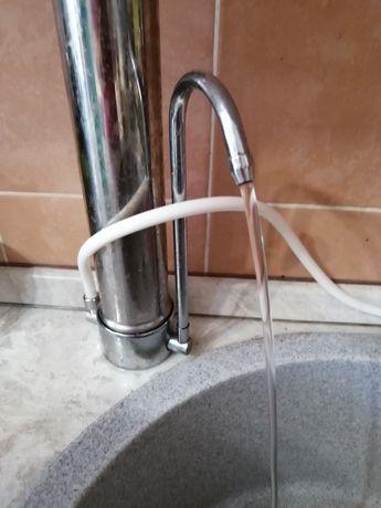 Новый Фильтр для воды, наннотехнологии, без  бандурин под раковиной