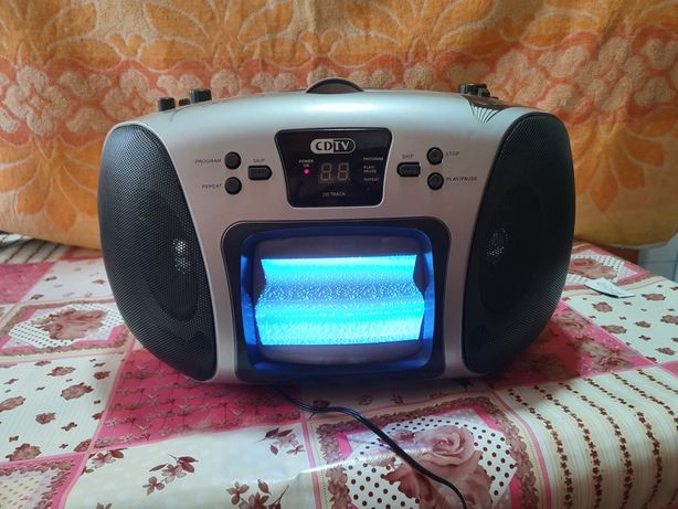 Radio CD cu Televizor