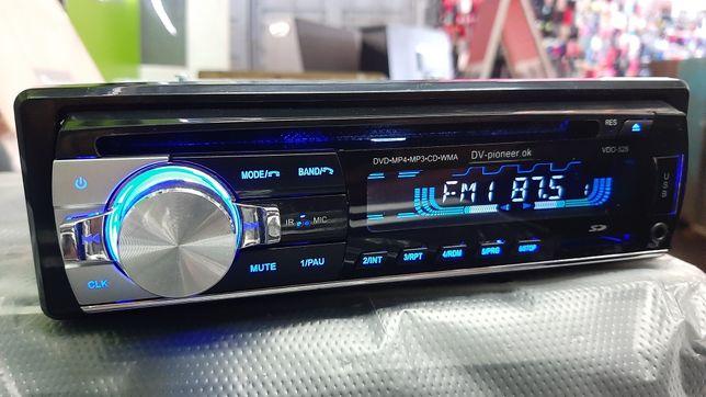 Магнитола Pioneer/JVC Магнитафон. Заводской!!! DVD, CD,USB,BT,AUX.