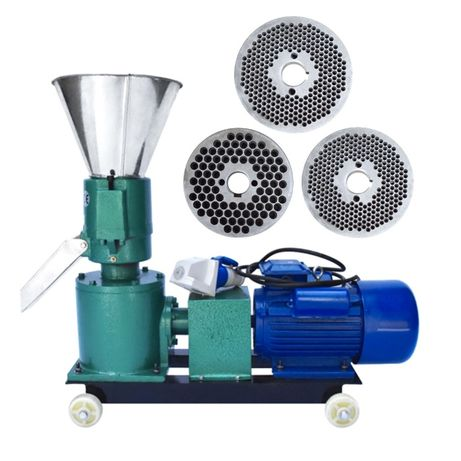 Granulator furaje KL 120 cu 3 matrite, motor inclus + transport acasa