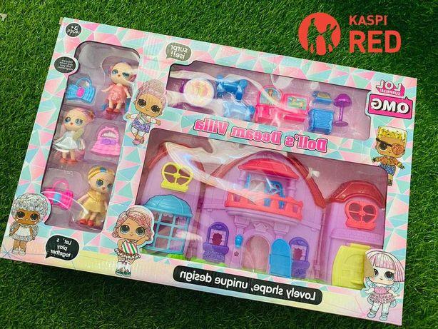 АКЦИЯ!!! Домик для куклы LOL