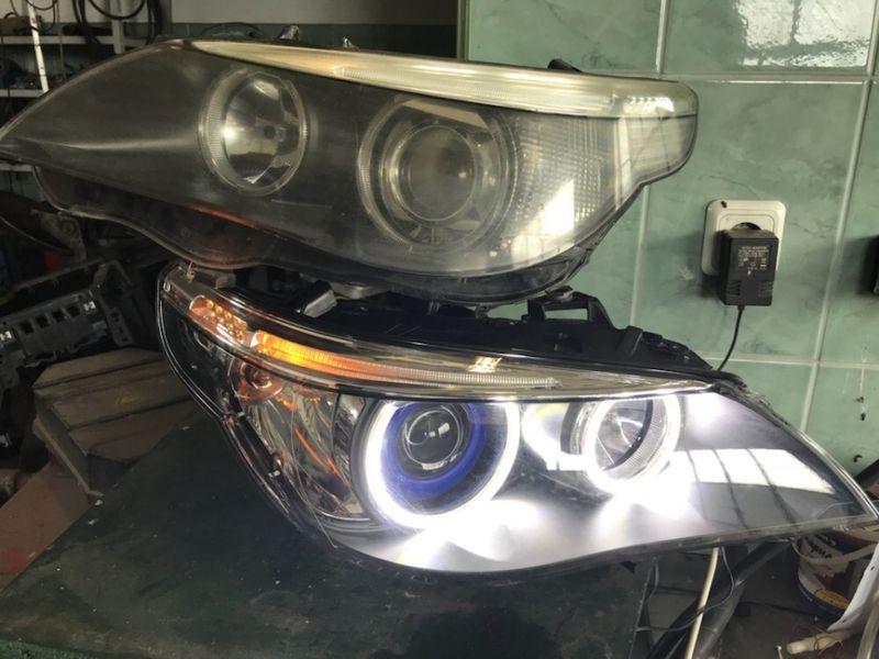 Ремонт на фарове БМВ(BMW) Тунинг и др гр. Димитровград - image 1