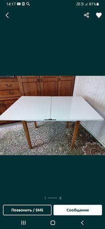 Продам прочный стол раскладной