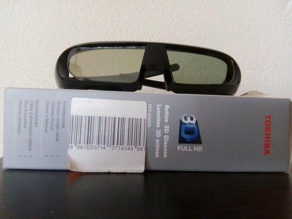 3 D очила-активни Toshiba