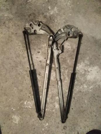 Панти с амортесьори преден капак мерцедес Е класа W210
