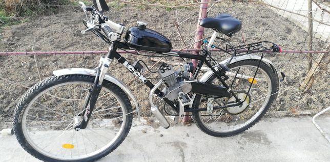 Bicicleta cu motor 49 cmc