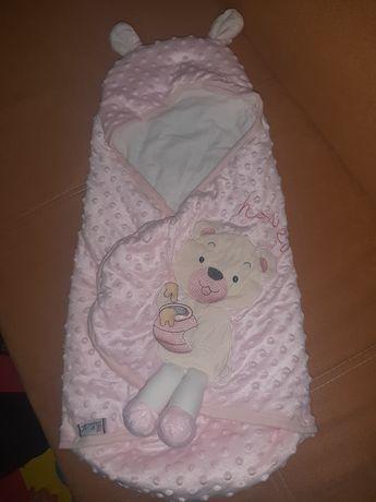 Бебешко зимно чувалче,става за изписване