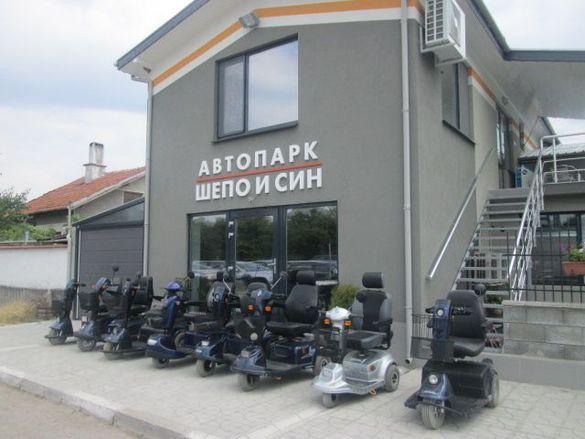 Инвалидни електрически колички тип скутер