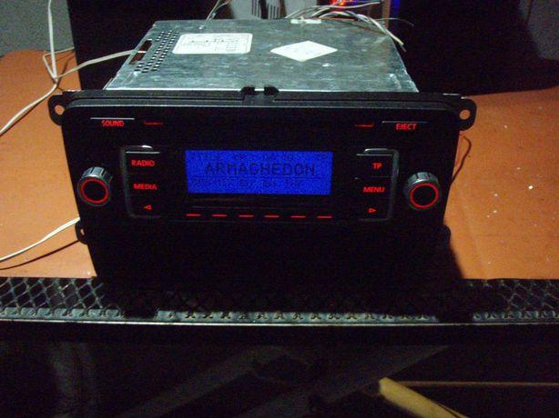 Radio CD Mp3 VW RCD210, detin cod pentru deblocare