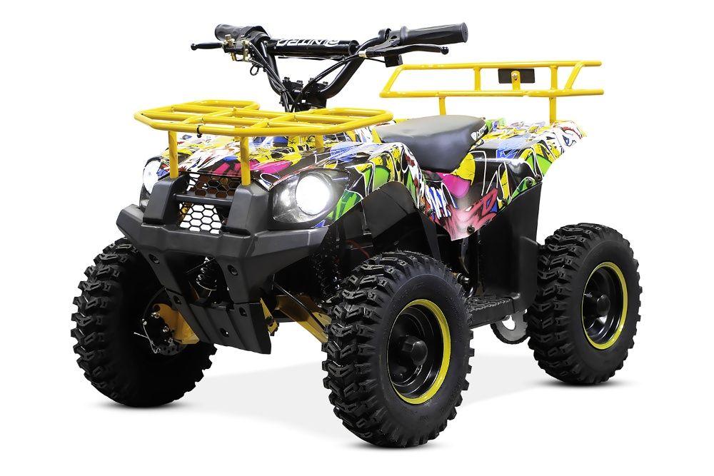 ATV electric NITRO ECO Torino Cross 800W 36V #Galben Zalau - imagine 1