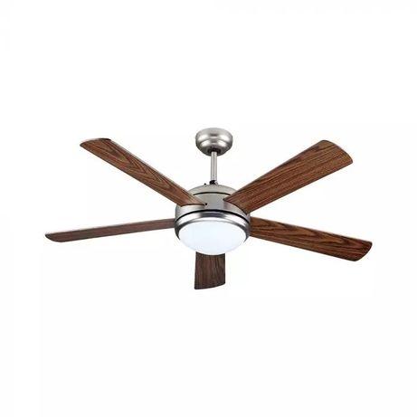 Вентилатор за таван 60W с лампа 15W 5перки 132cm