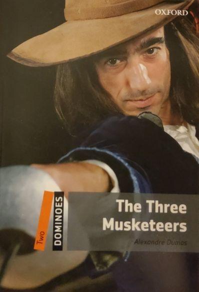 Продавам книга,англ.език ниво Б1,The Three Musketeers. Alexandre Dumas