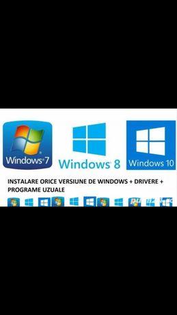 instalez windows(Reparatii Laptop-uri Pc-uri Schimbat piese)NON STOP