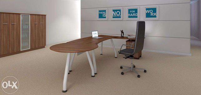 Masa de birou directoriala si dulap antifoc