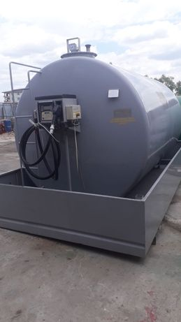 Bazin rezervor carburant motorina 20000 litri cu pompa electronica