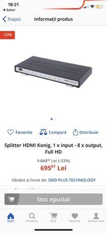 Splitter HDMI Konig