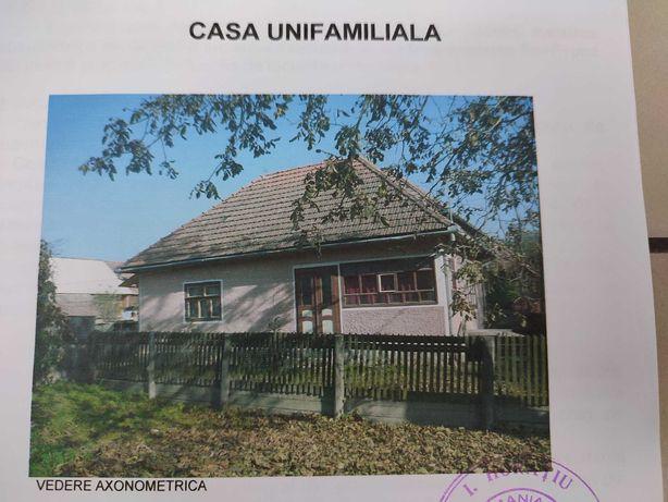 Vand  casa cu teren generos in comuna Zabala jud Covasna.
