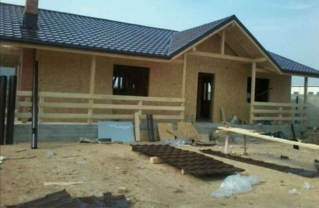 Vând și construiesc case și cabane din lemn