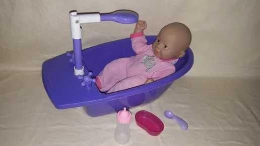 Papusa bebe Zapf Creations Chou Chou cu functii + cadita si accesorii