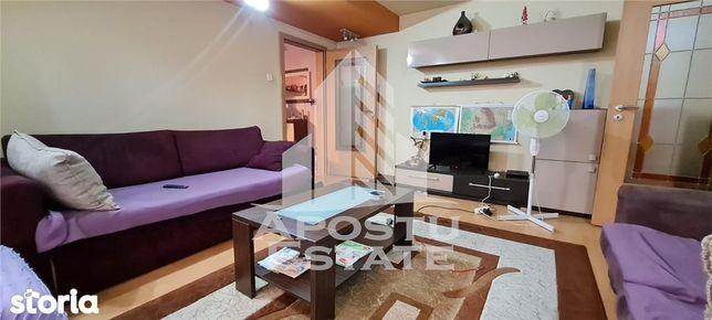 Apartament cu 3 camere si 2 bai, etaj intermediar, Aradului