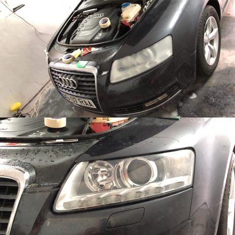 Polish faruri sau auto