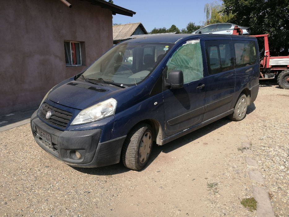 Dezmembrez Fiat Scudo 2.0 RHK 120CP 2007 - 2014 8+1 locuri 162.000 km