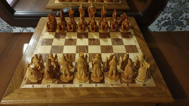 Шахматы художественные.