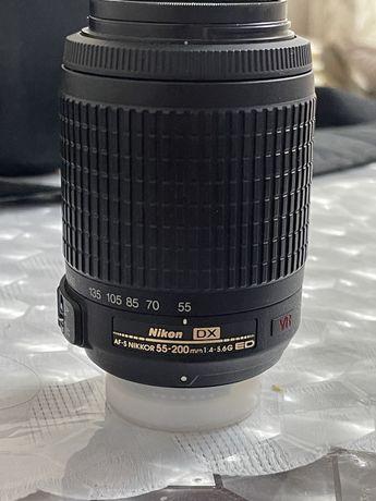Объектив 55-200мм для  Nikon