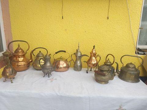ceainic din cupru / alama/bronz