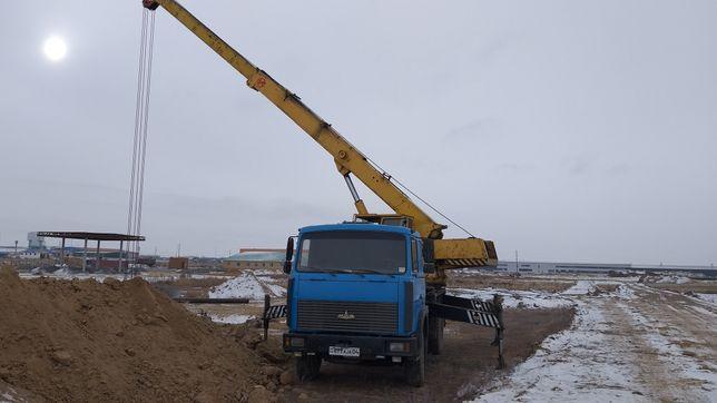 Услуги автокрана Кран маз 14 тонн 14 метров