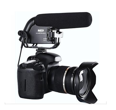 Microfon BOYA BY-VM190 Shotgun Pro Stereo Video DSLR Camera Camcorder