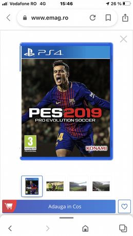 Joc Pro Evolution Soccer 2019 PS4