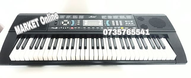 Orga electronica 61 clape,MLS-6639,USB,MP3,2Boxe,128 ritmuri/tonuri