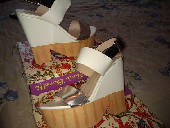 Сандали с платформа Paolo Bocelli