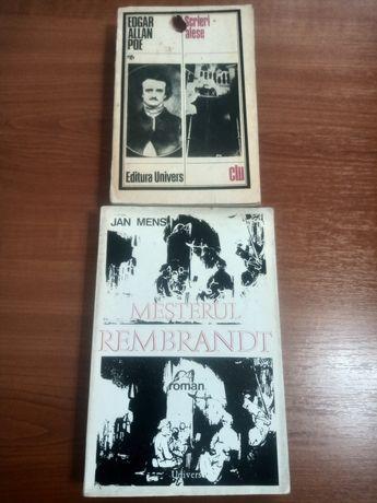 2 *Jan Mens: Meșterul Rembrandt/E.A.Poe :Scrieri alese